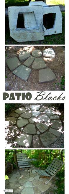 Advantages of man-made concrete or cement stone, tile, brick, cobblestone and pavers created using molds Description of the numerous advantages