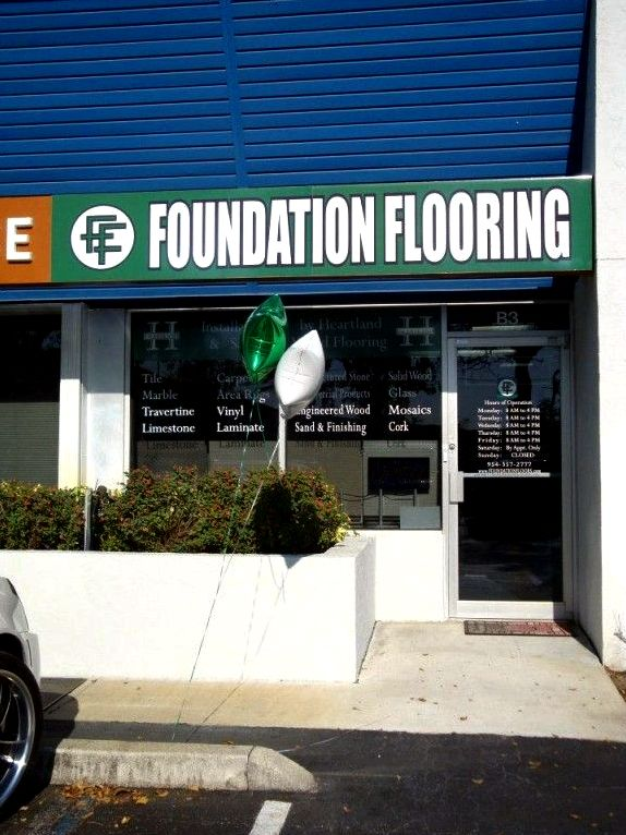 Foundation flooring - pompano beach, fl iron within the tile                 Gemstone