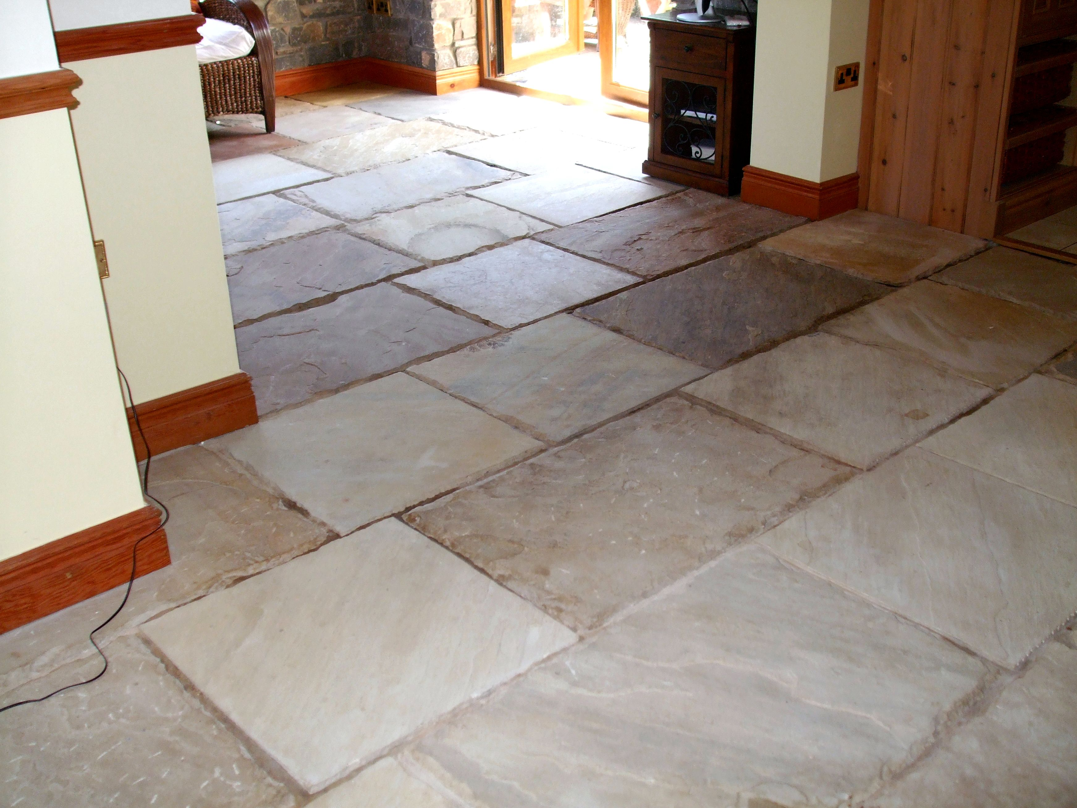 Gemstone flooring few granite