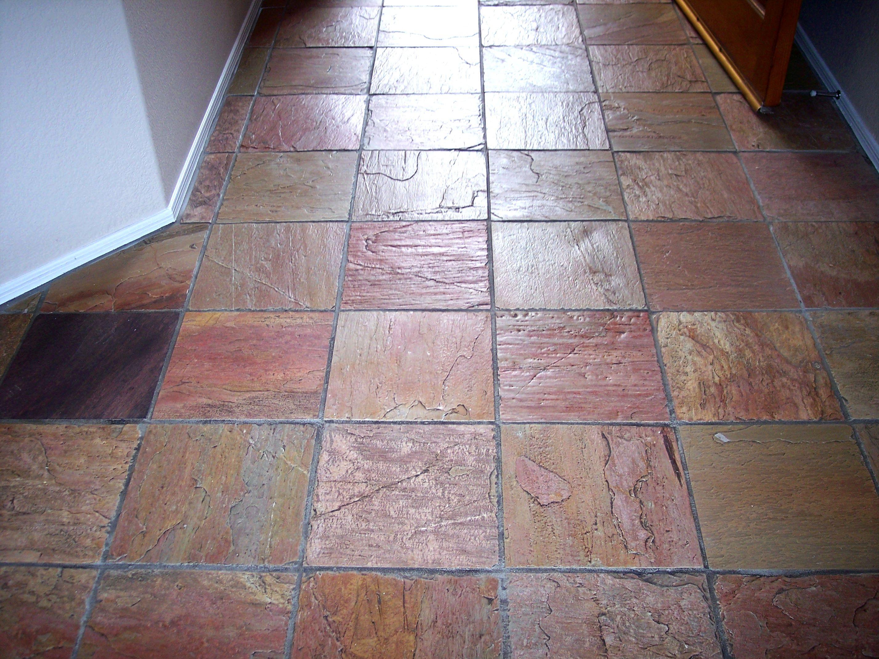Gemstone granite marble floors in the