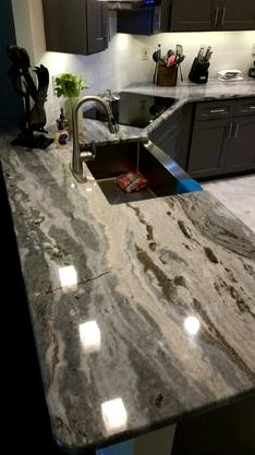 Gemstone - granite, marble, quarta movement countertops & solid surfaces connection to architects