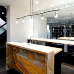 Gemstone in interior planning – marble, granite, onyx, quarta movement
