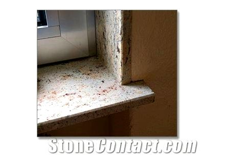 Gemstone - window sills There are lots