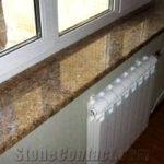 Granite, quarta movement of stone window sills