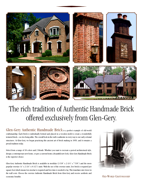 GG AuthenticHandmadeBrick