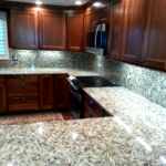 How are granite countertops made