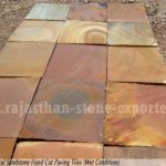 Natural sandstone,fall brown sandstone,chocolate sandstone exporters in india