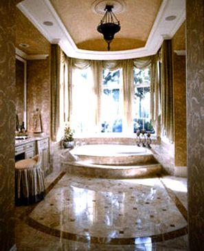 Spokane stone flooring worn lower look             achieved by
