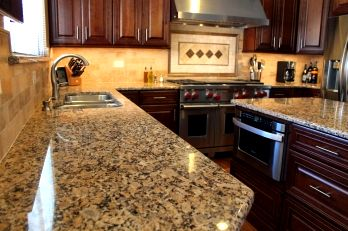 Granite Kitchen Countertop Installed in Kenosha