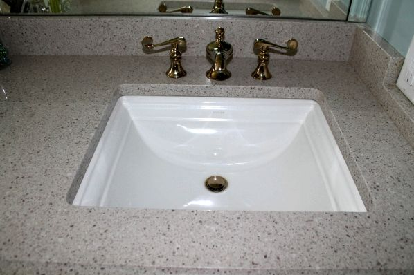 Custom-built sinks from All Stone