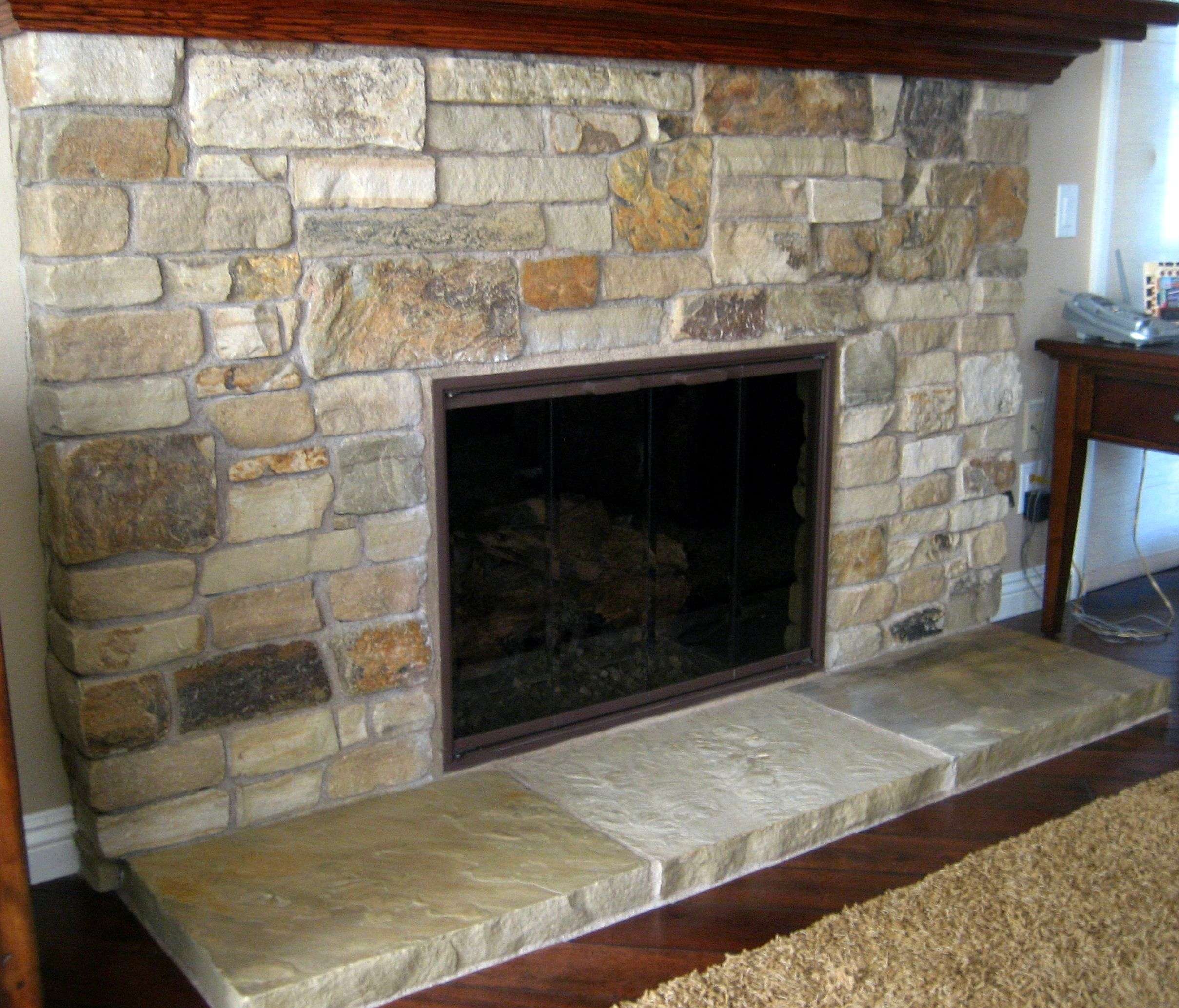 Stone hearth designs What exactly