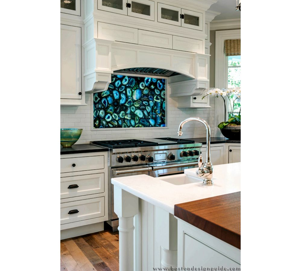 Natural stone and tile kitchen