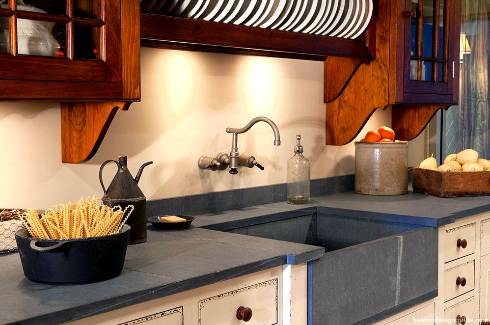 Home sandstone kitchen