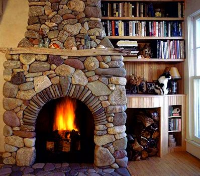 The First Steps In Building An All-Natural Stone Fireplace