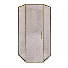 Neo Angle Shower: Glass Door & Enclosure