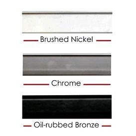 Shower: Metal Frame Options