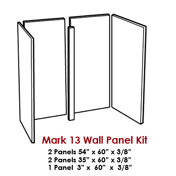 Wall Panel Kit / Tub Surround for our Mark 13 Tub