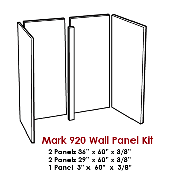 Wall Panel Kit / Tub Surround for our Mark 920 Tub